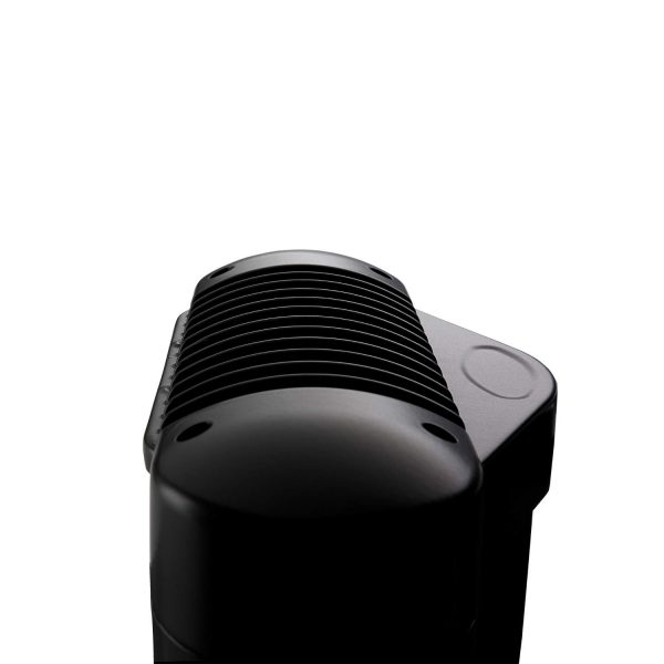 Close Up Shot of Tansun Sorrento Ceramic Single Infrared Heater in Black