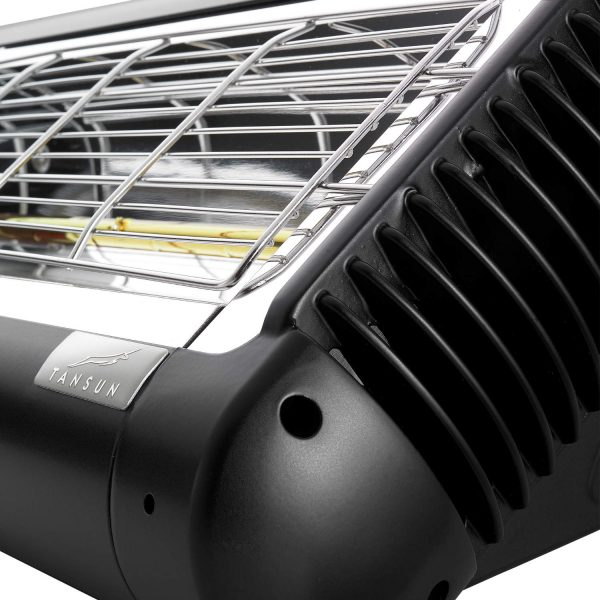 Close Up View of Tansun Sorrento Single 1.5-2.0kW Infrared Heater