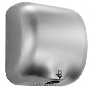 950102 Brushed Stainless fast drying Hand Dryer