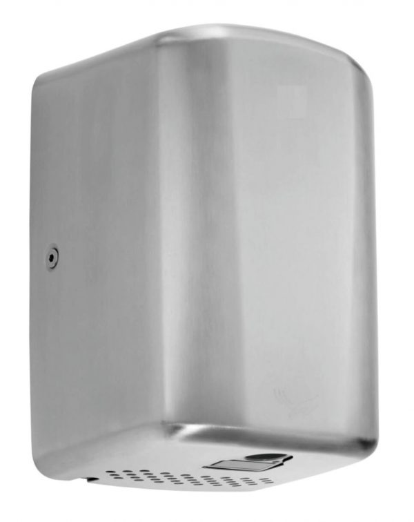 950103 Brushed Stainless Junior Plus energy efficient hand dryer