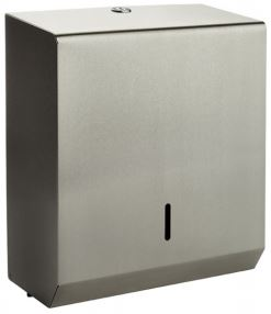 950106 Brushed Stainless Steel Hand Towel Dispenser