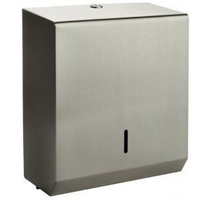 Brushed Stainless Steel Hand Towel Dispenser