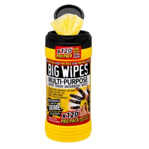Big Wipes multi-purpose anti-bacterial cleaning wipes for all environments