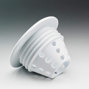 Flexi silicone LED light housing case front view